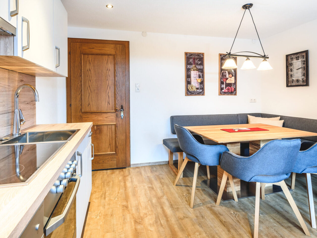 Küche - Appartement Heidi